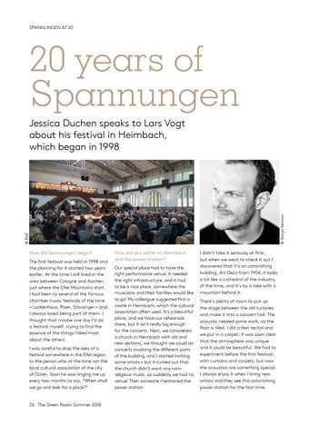 Page 26 of 20 years of Spannungen