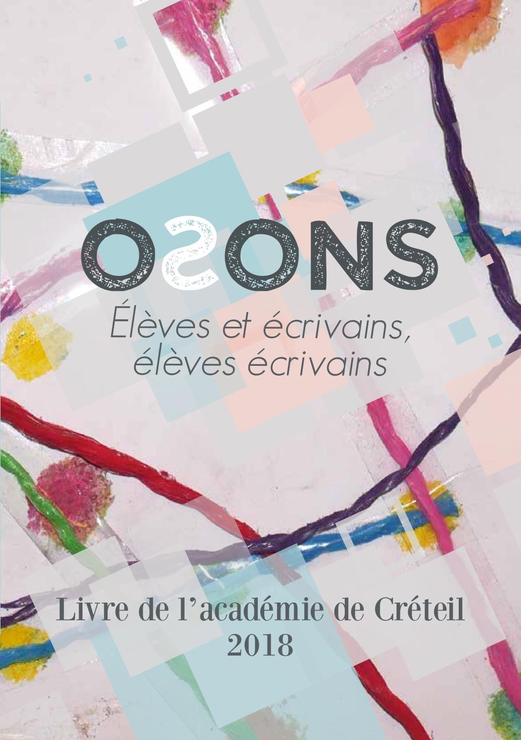 Livre Académique De Créteil 2018 Osons By Académie De
