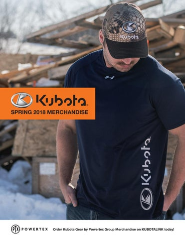 08e4ec7ab9f Spring 2018 Kubota Gear Catalog by Powertex Group - issuu