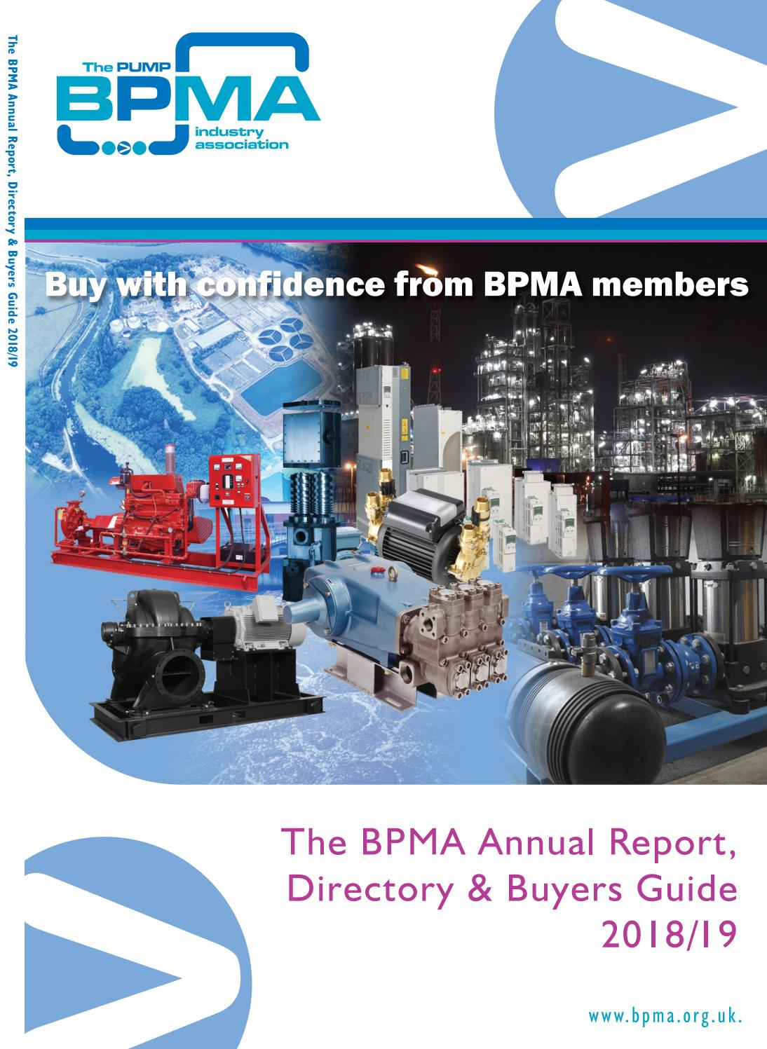 BPMA Annual Report, Directory & Buyers Guide 2018/19 by