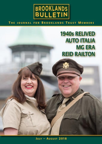 a8fd38ca775 Brooklands Bulletin Issue 52 Jul  Aug 2018 by Brooklands Trust ...