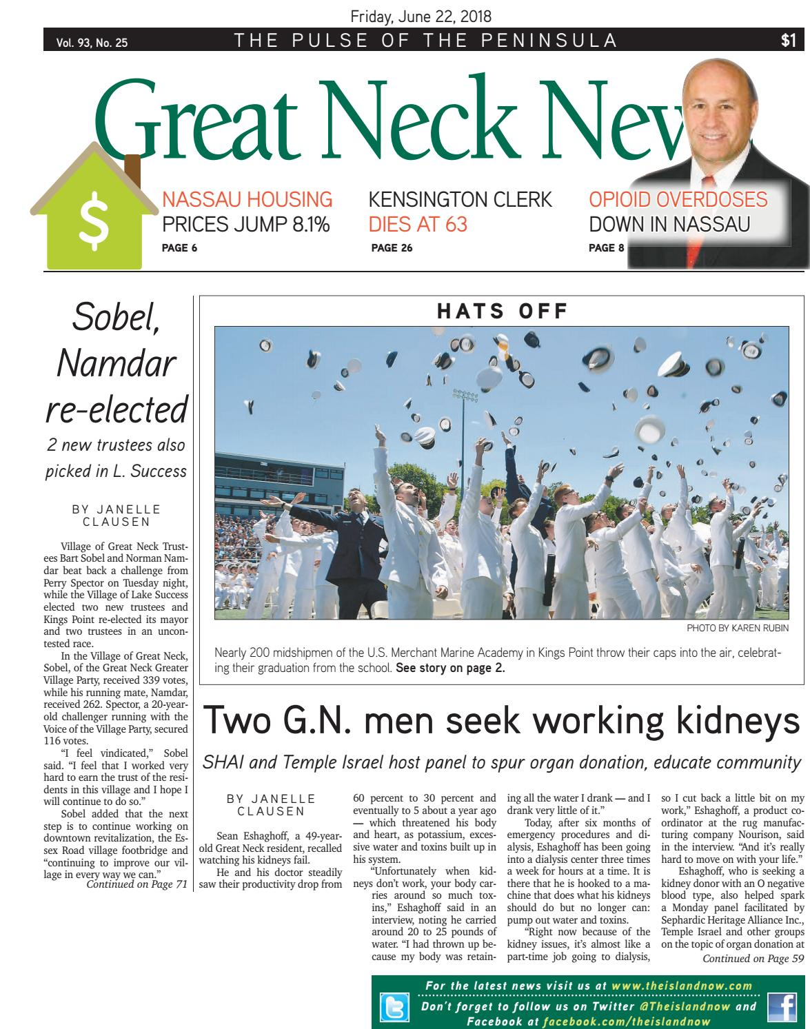 bc25e9b2e89f3 Great Neck News 2018 06 22 by The Island Now - issuu