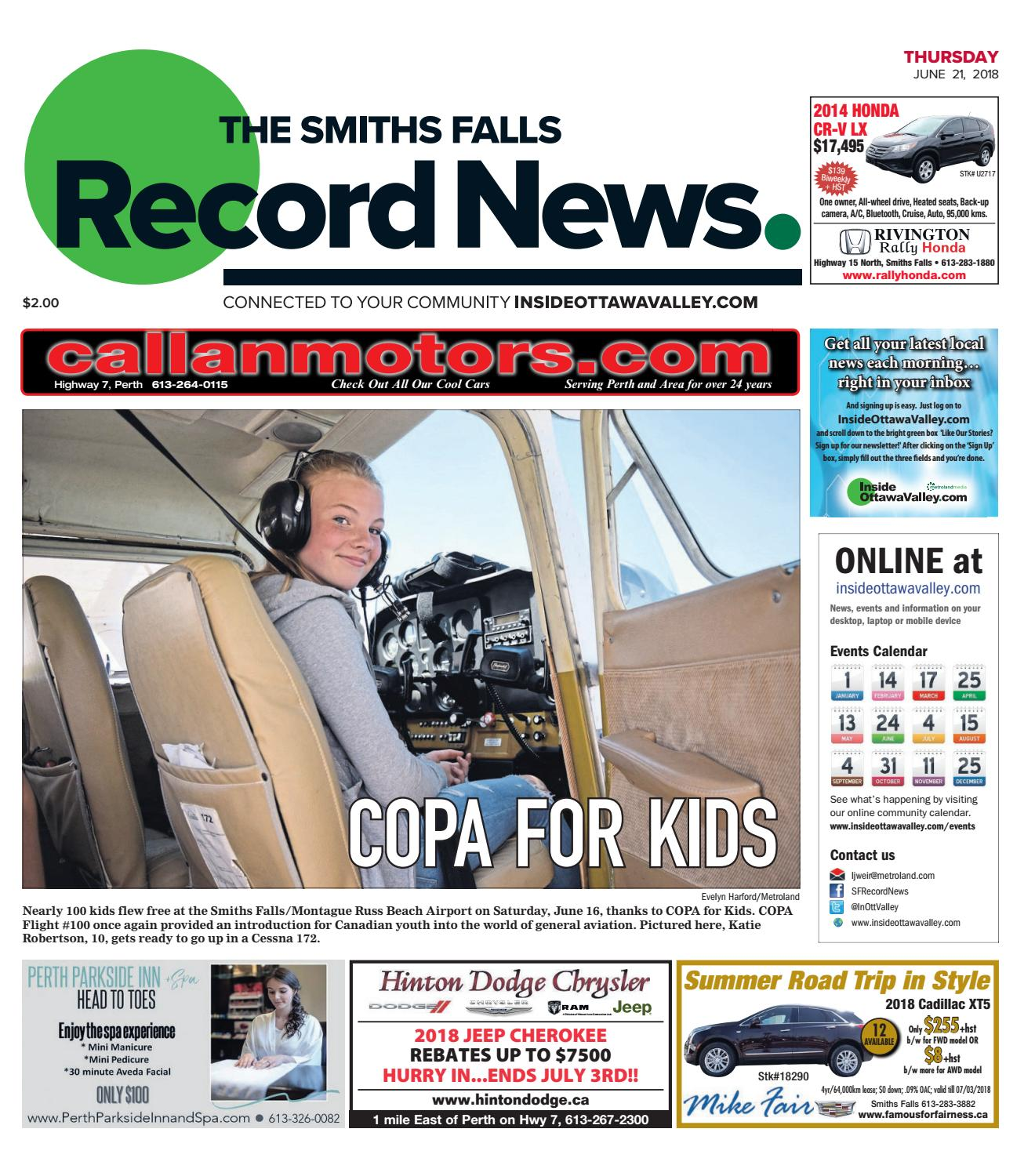470dce6f9f1 Otv s a 20180621 by Metroland East - Smiths Falls Record News - issuu