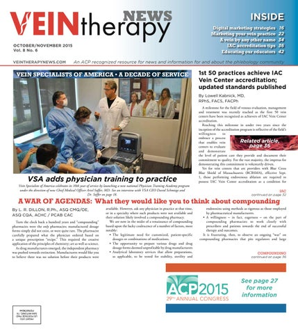 Vein Therapy News by Digital Publisher - issuu