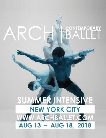 Arch ballet Summer Intensive Dancers 2018 by Arch