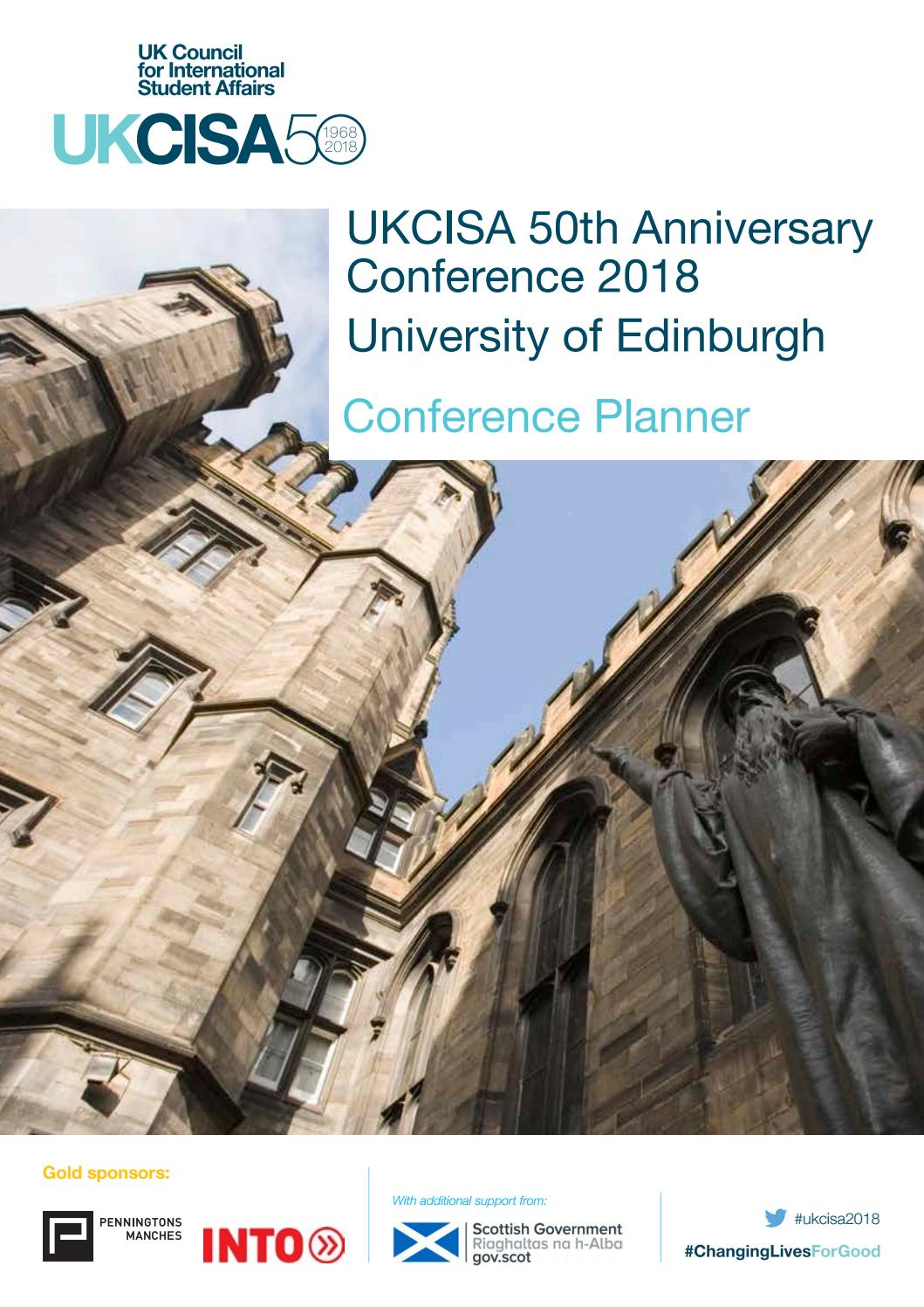 UKCISA Conference 2018 planner by UKCISA - issuu