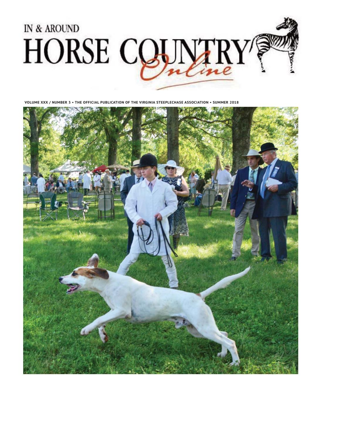 85438487c04 In   Around Horse Country Summer 2018 by Marion Maggiolo - issuu