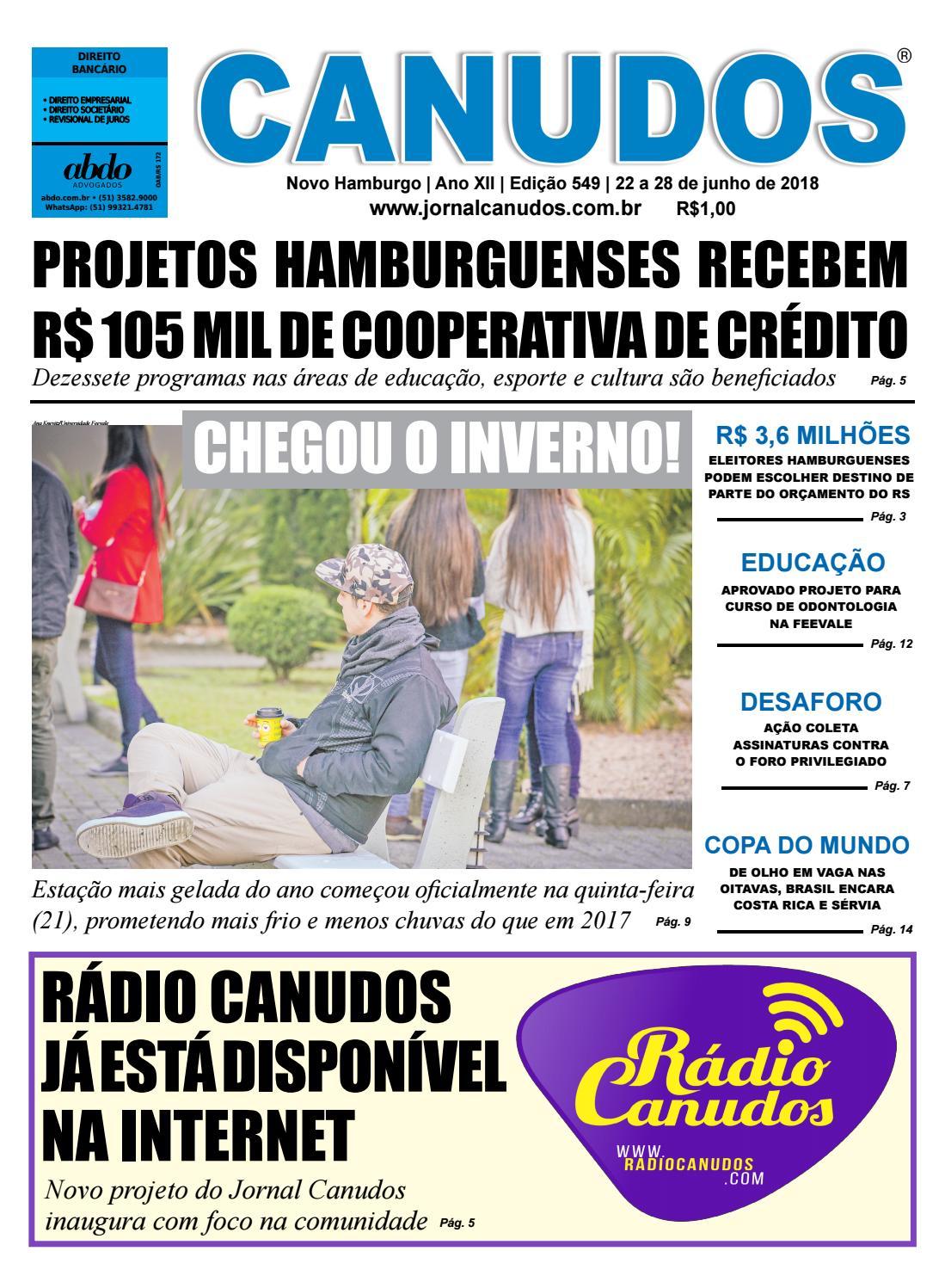 e778d075ac Jornal Canudos - Edição 549 by Jornal Canudos - Comercial - issuu