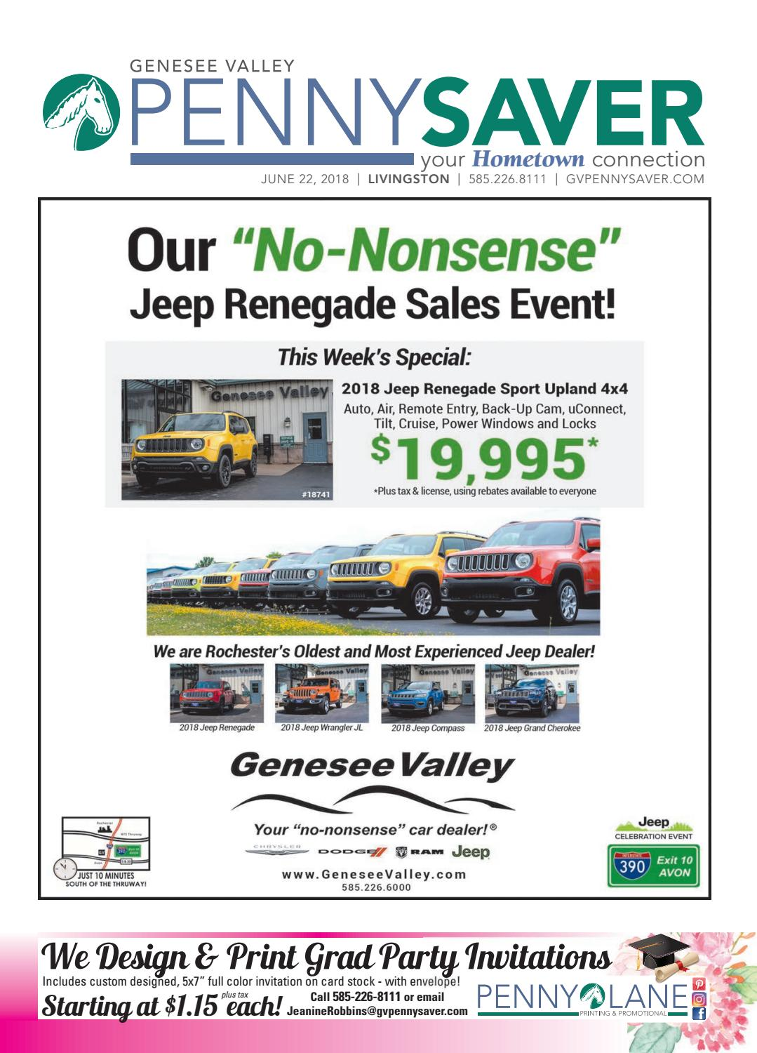 Livingston Edition - The Genesee Valley Penny Saver 6/22/18