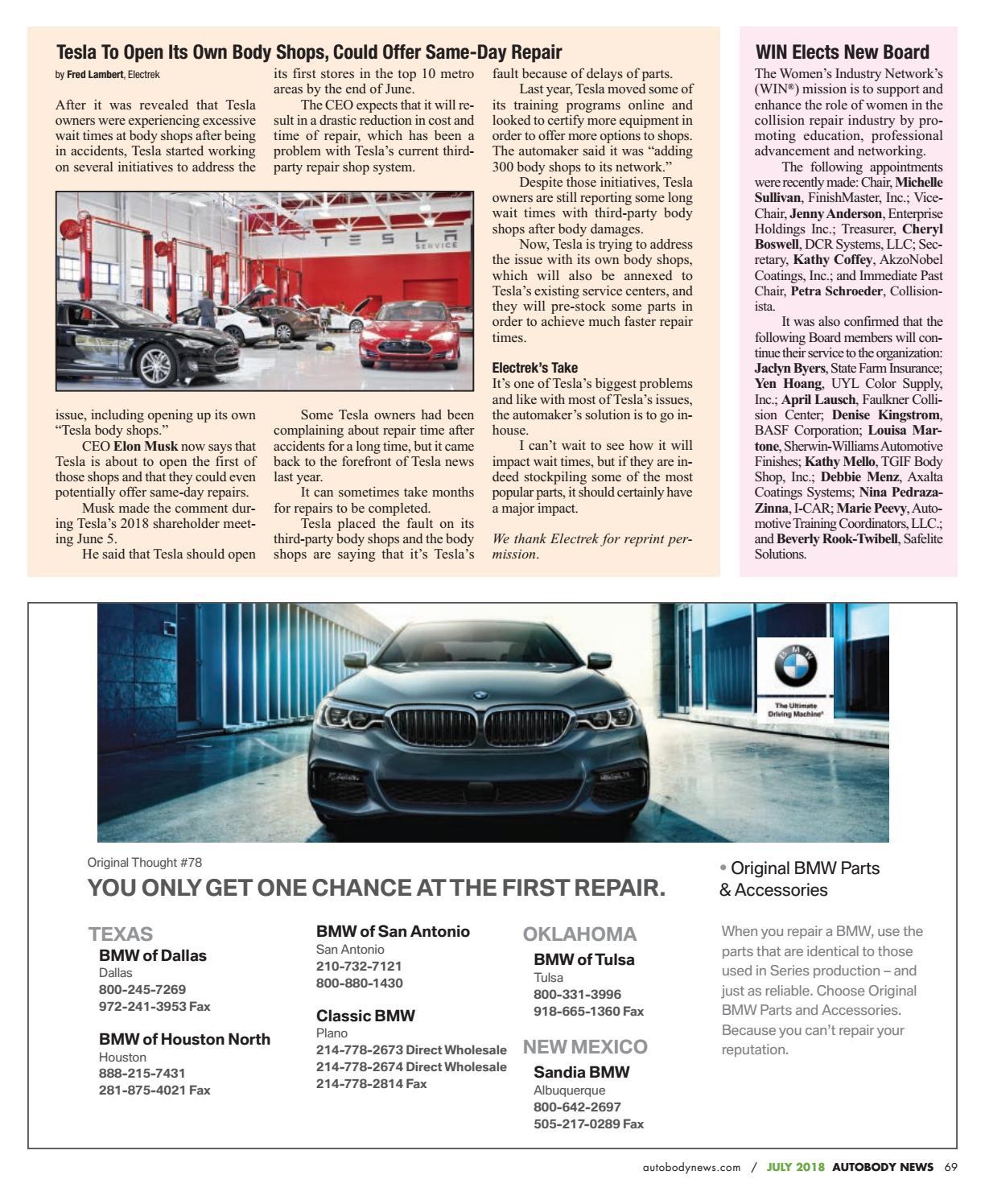 July 2018 Southwest Edition by Autobody News - issuu
