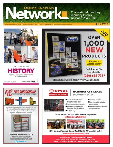 Material Handling Network July 2018 By Material Handling