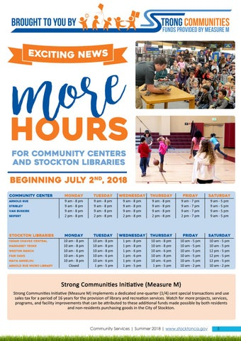 Page 5 of Expanded Hours in July 2018