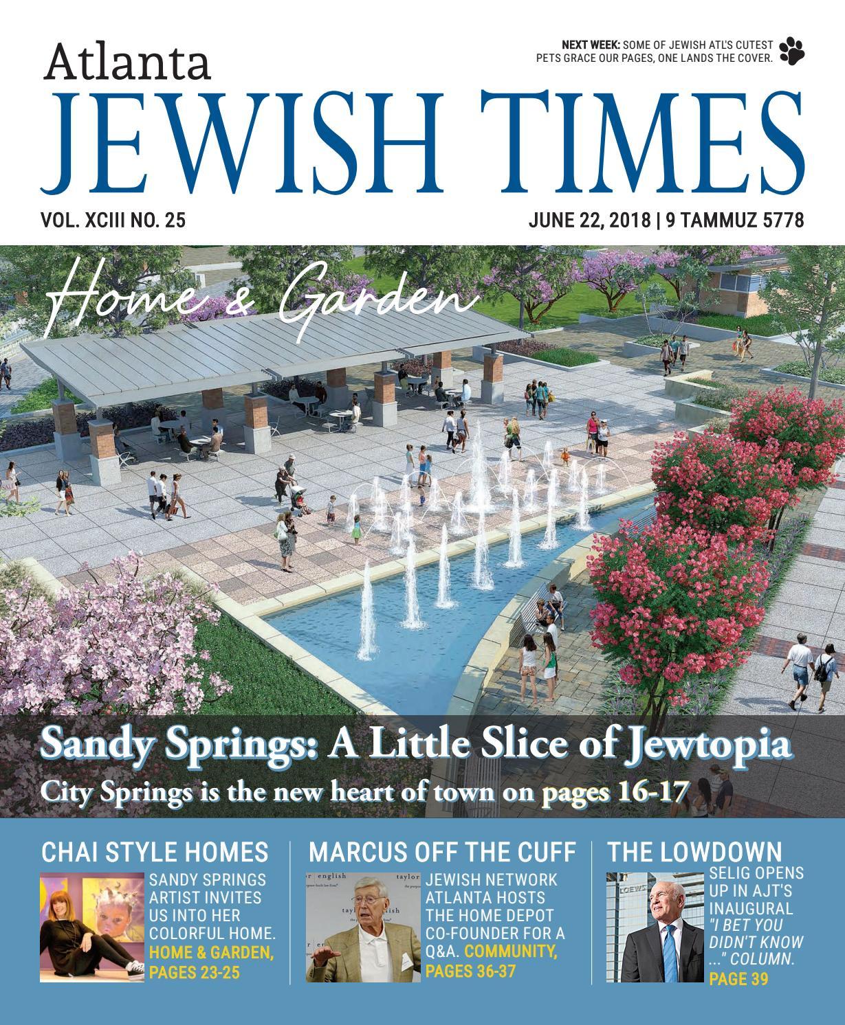 a080e707c41 Atlanta Jewish Times, Vol. XCIII No. 25, June 22, 2018 by Atlanta Jewish  Times - issuu