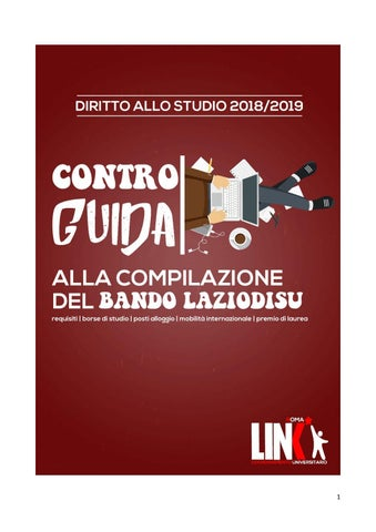 f9bb9ed3cf Controguida Bando Laziodisu 2018 2019 by Link Roma - issuu