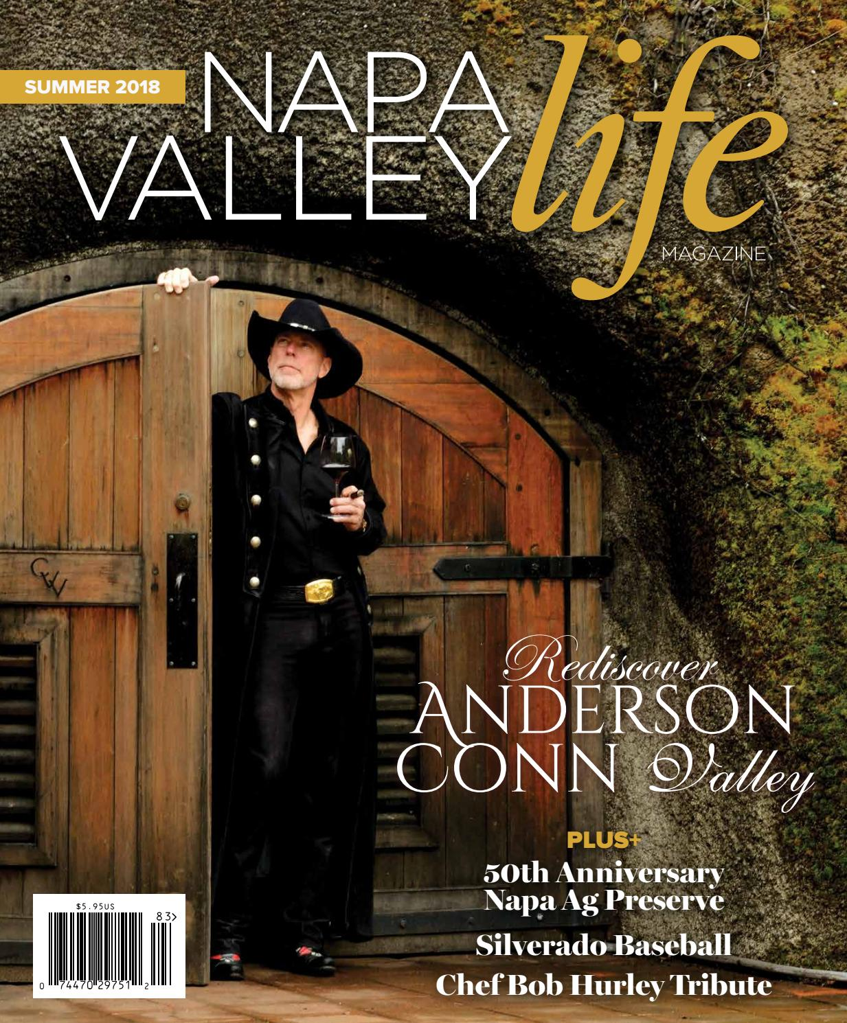 Napa Valley Life Magazine Summer 2018 Edition By Web Media