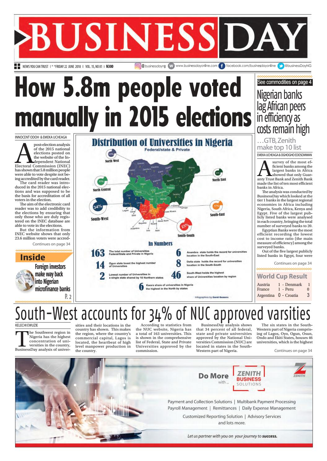 Businessday 22 jun 2018 by BusinessDay - issuu