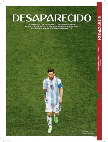 0d22c13a0 Desaparecido by La Razón De México - issuu