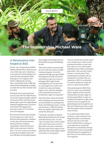 Page 30 of The Indomitable Michael Ware