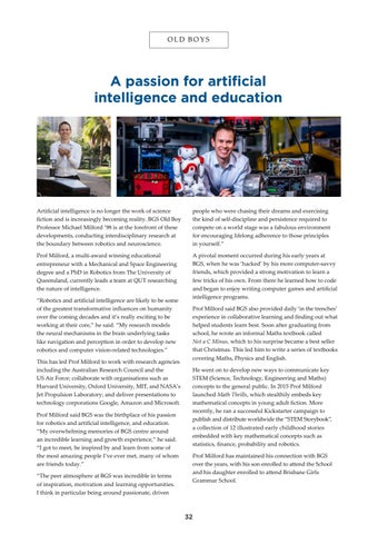 Page 32 of A passion for artificial intelligence and education