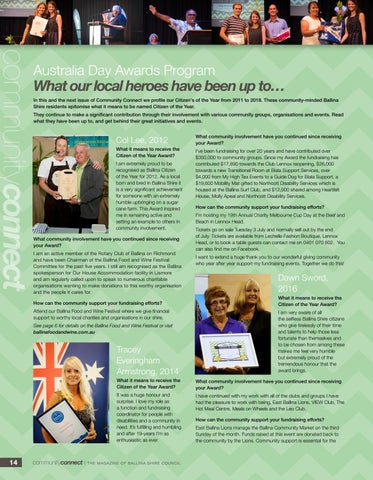 Page 14 of What our local heroes have been up to...