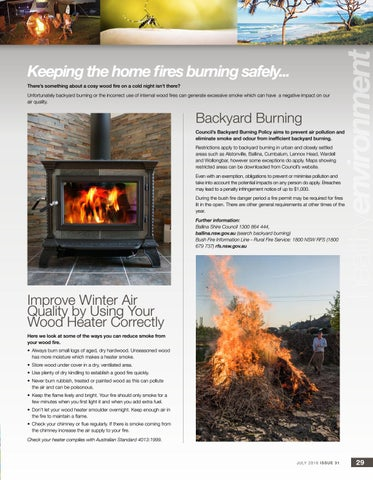 Page 29 of Keeping the home fires burning safely