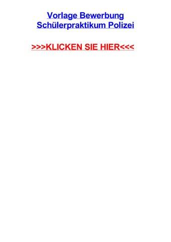 vorlage bewerbung schlerpraktikum polizei weikersheim baden wrttemberg quellen schwinden holz - Kriminalpolizei Bewerbung