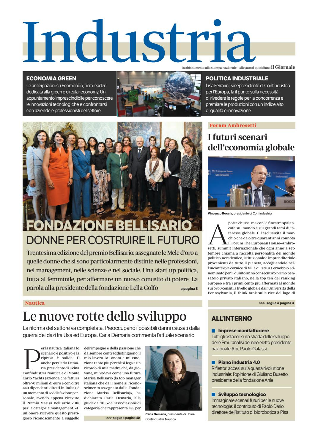 Industria giugno 2018 by Golfarelli Editore International Group - issuu bc45e8ba9600
