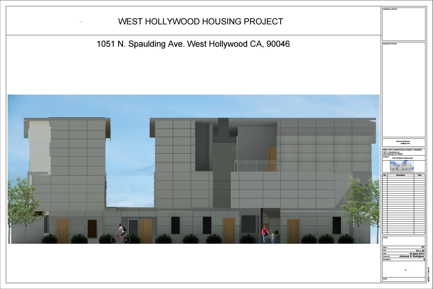 West Hollywood Housing Project Construction Docs By Electrical Can I Use Romex In My Unfinished Detached Garage Or Rodriguezsjohanna Issuu