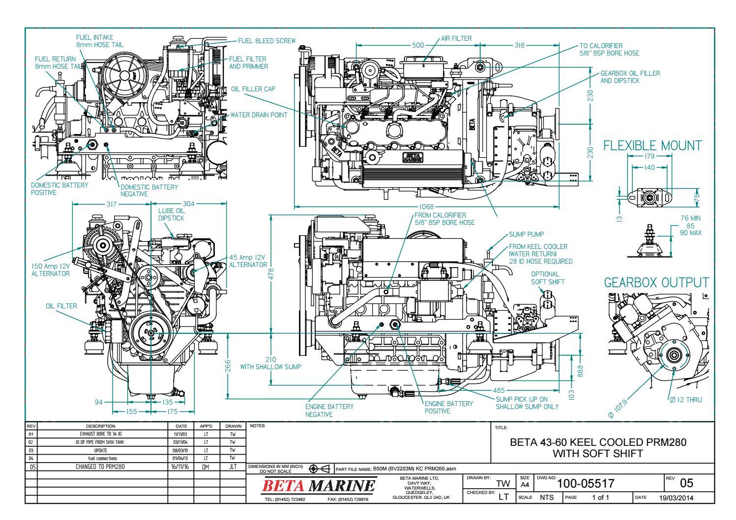 kc 135 engineering schematics electrical engineering schematics b43, b50 & b60 kc prm280 100-05517 by beta marine - issuu