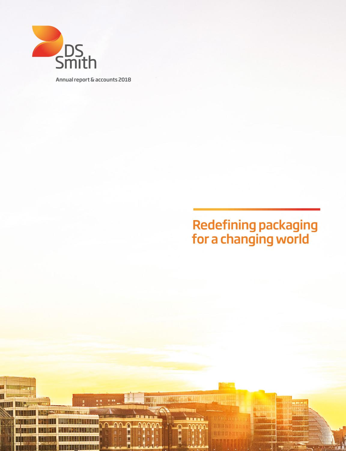 40baffff51 DS Smith Annual Report 2018 by DS Smith - issuu