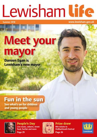 Lewisham Life Summer 2018 By Lewishamcouncil Issuu