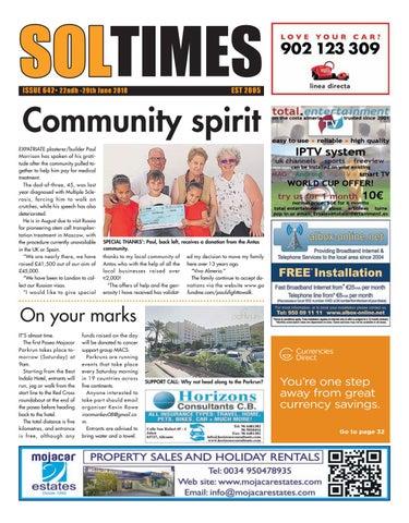 Soltimes Almeria – Issue 643 by Sol Times - issuu