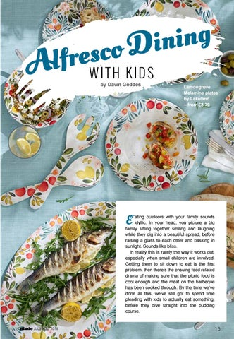 Page 15 of Alfresco Dining with Kids