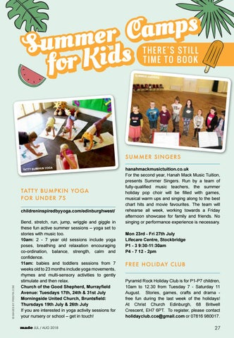 Page 27 of Summer Camps for Kids