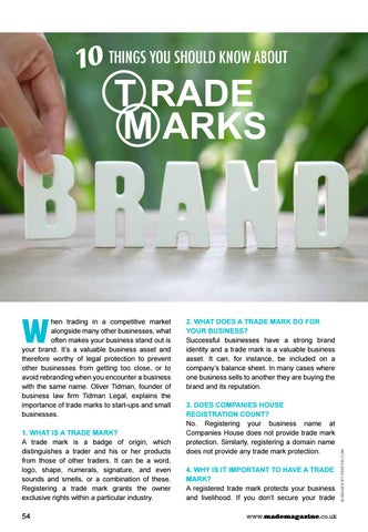 Page 54 of 10 Things You Should Know About Trademarks
