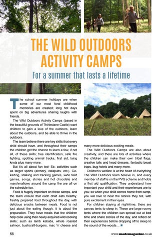Page 56 of The Wild Outdoors Activity Camps