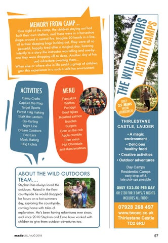 Page 57 of The Wild Outdoors Activity Camps