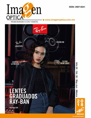 ae1d2a5435 Revista Mayo Junio 2018 by Imagen Optica - issuu