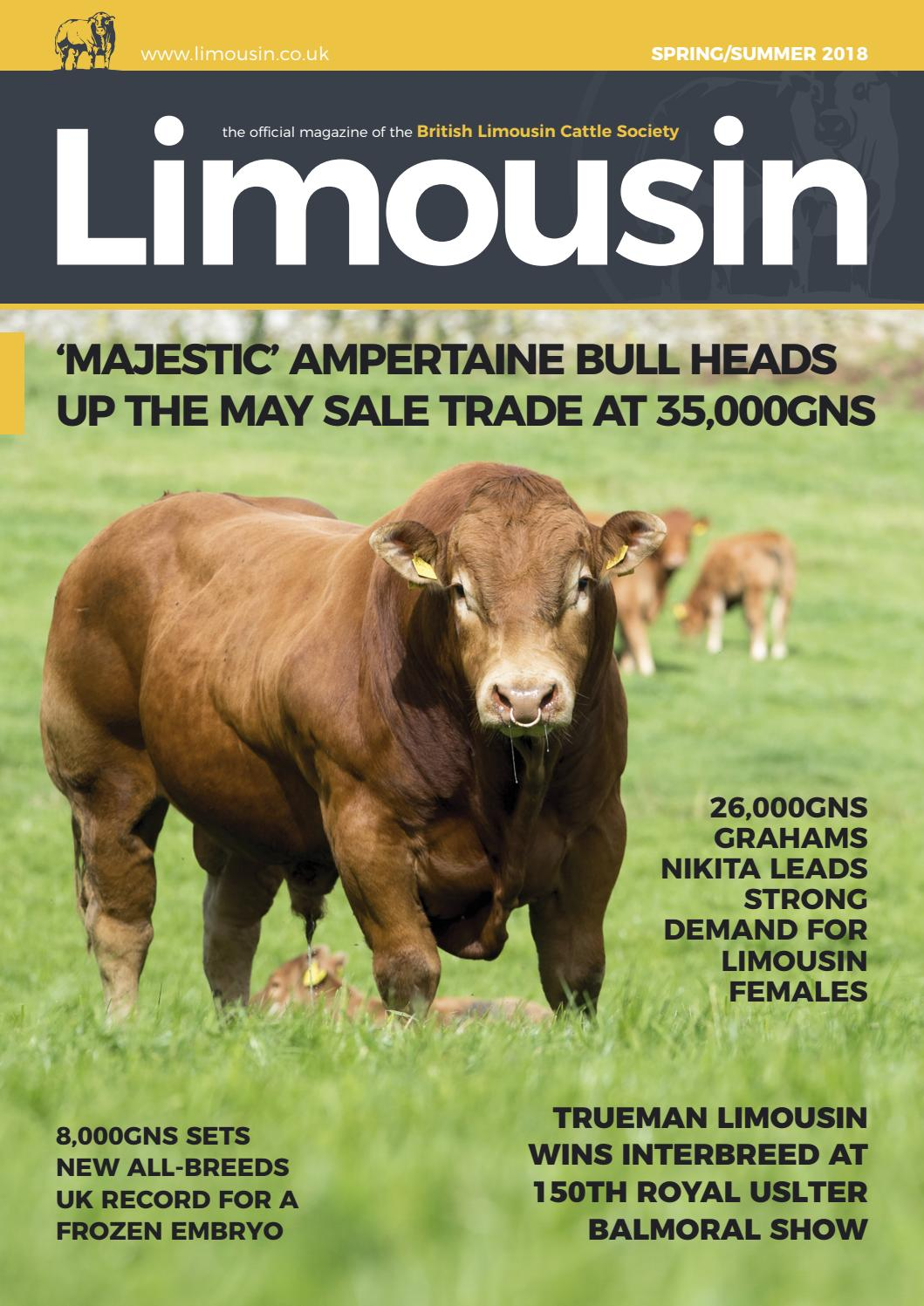 BLCS Spring 2018 Magazine by British Limousin Cattle Society - issuu b951d0e3a5