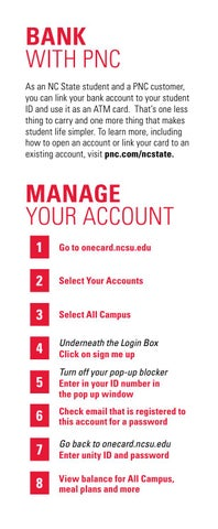 Wolfpack One Card New Student Guide by NC State Campus