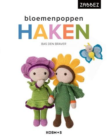 Bloemenpoppen Haken Bas Den Braver By Veen Bosch Keuning