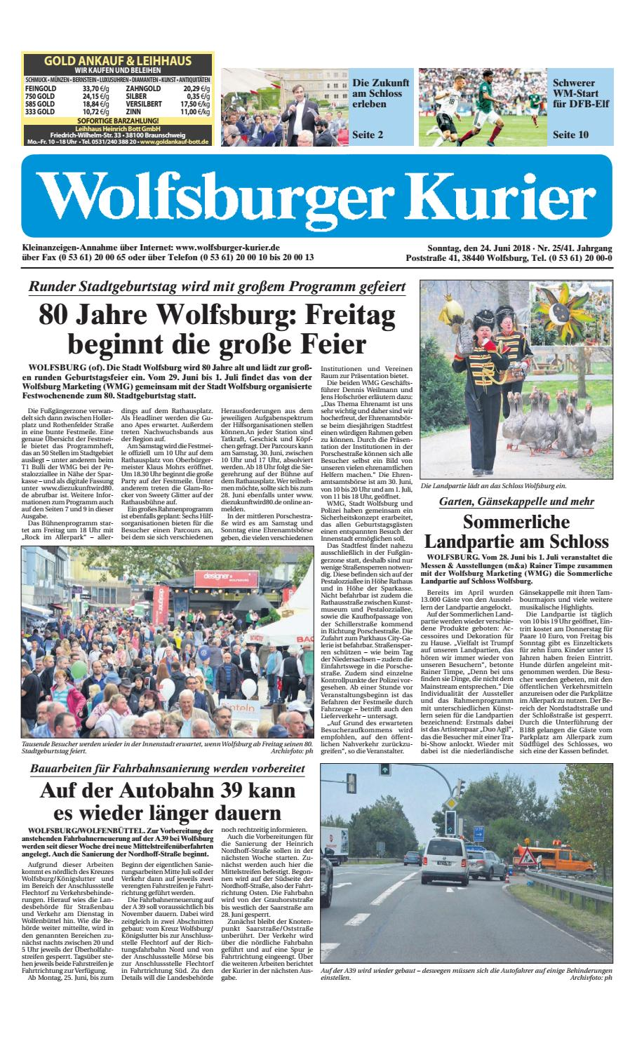 2018 06 24 by Wolfsburger Kurier - issuu