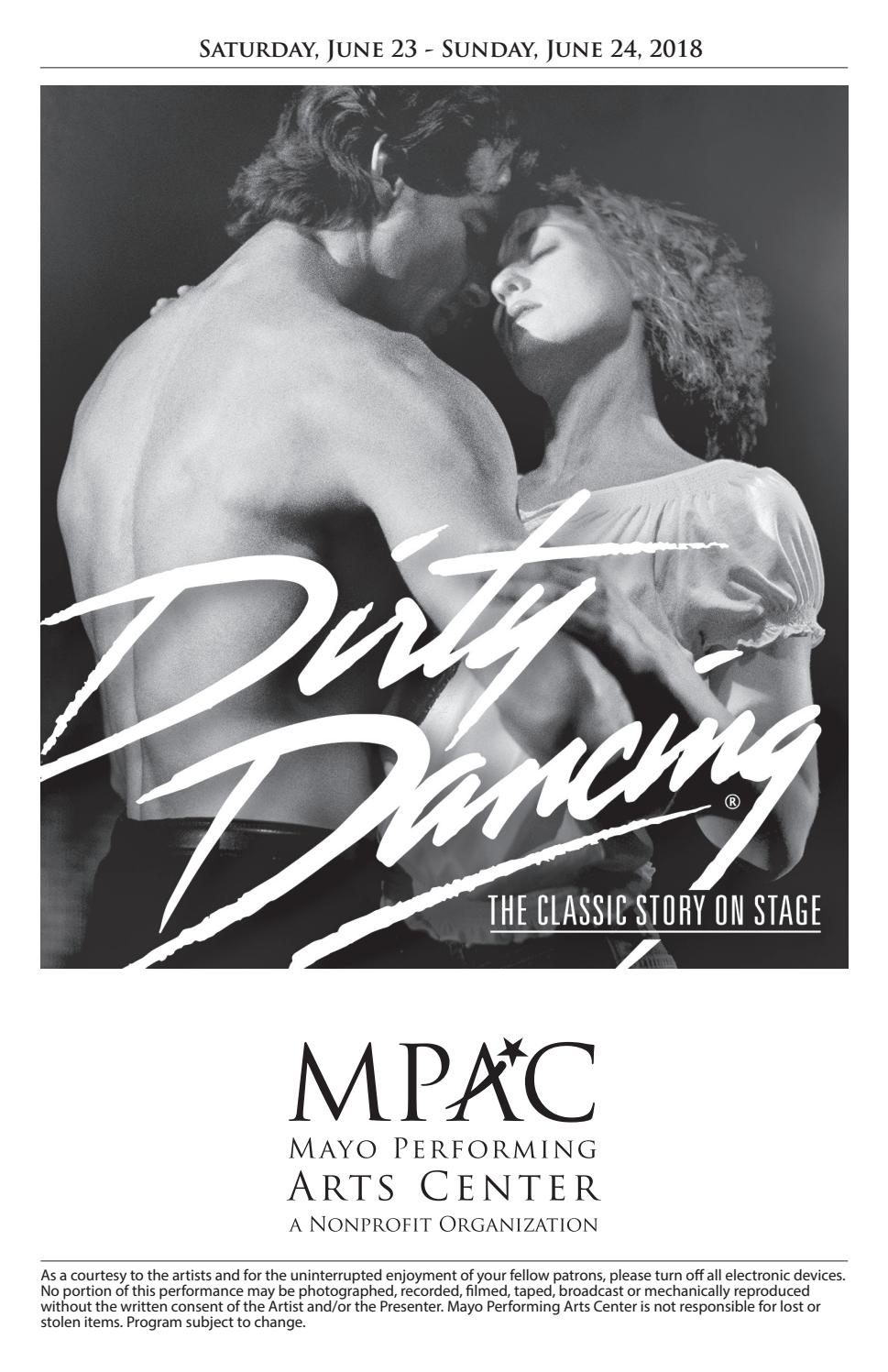 Dirty Dancing The Musical by Mayo Performing Arts Center - issuu