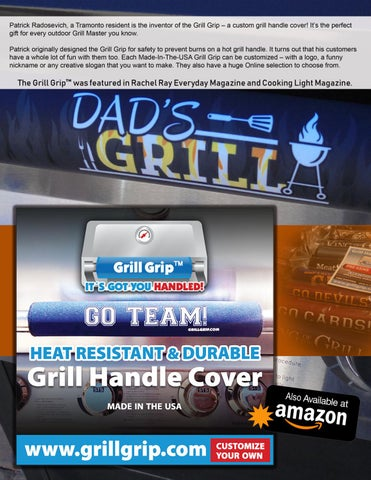 Page 9 of Arizona Founder, Patrick Radosevich develops trending item, the Grill Grip