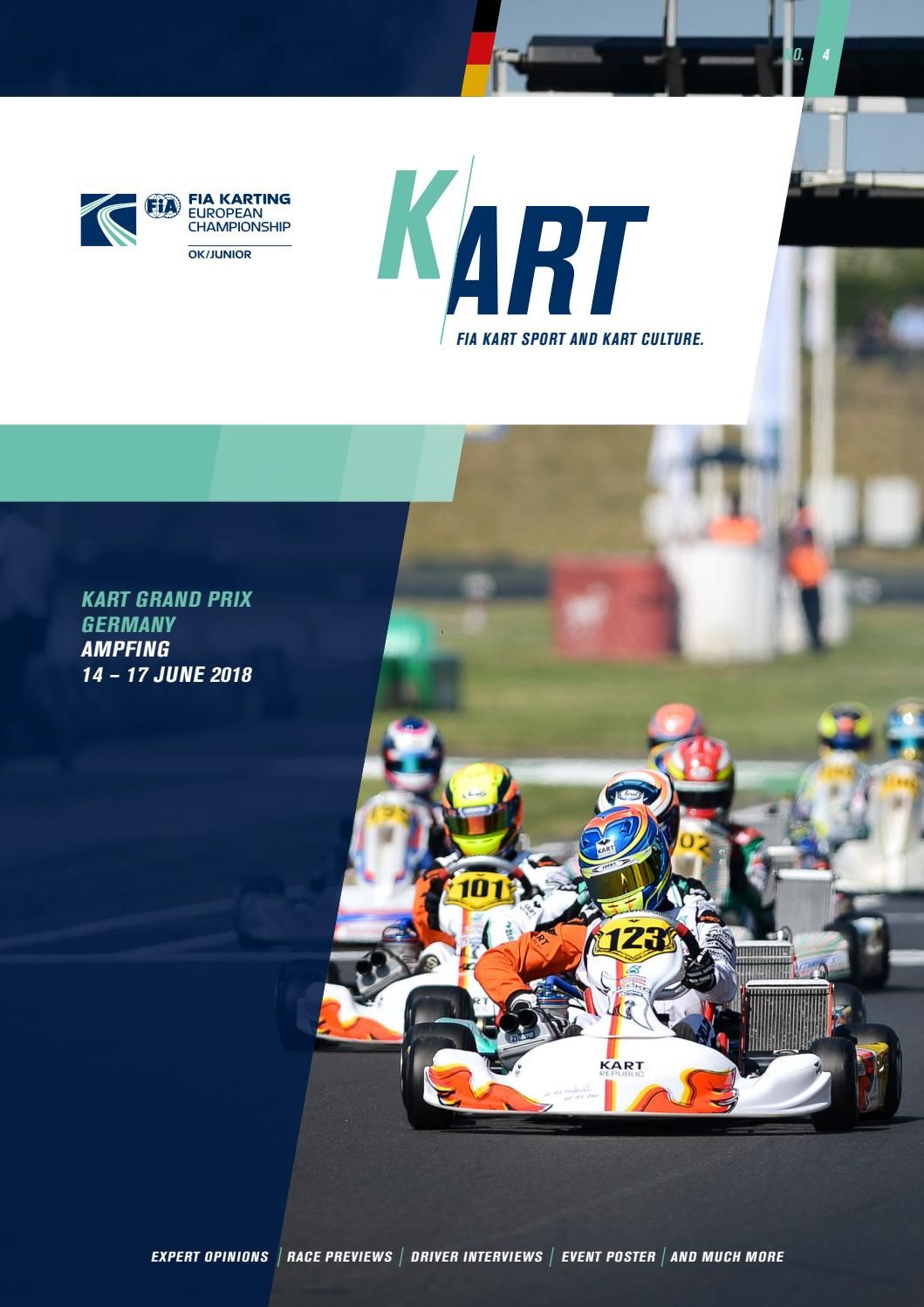Fia Cik Kart Magazine 2018 No 4 Ampfing Germany By Publications