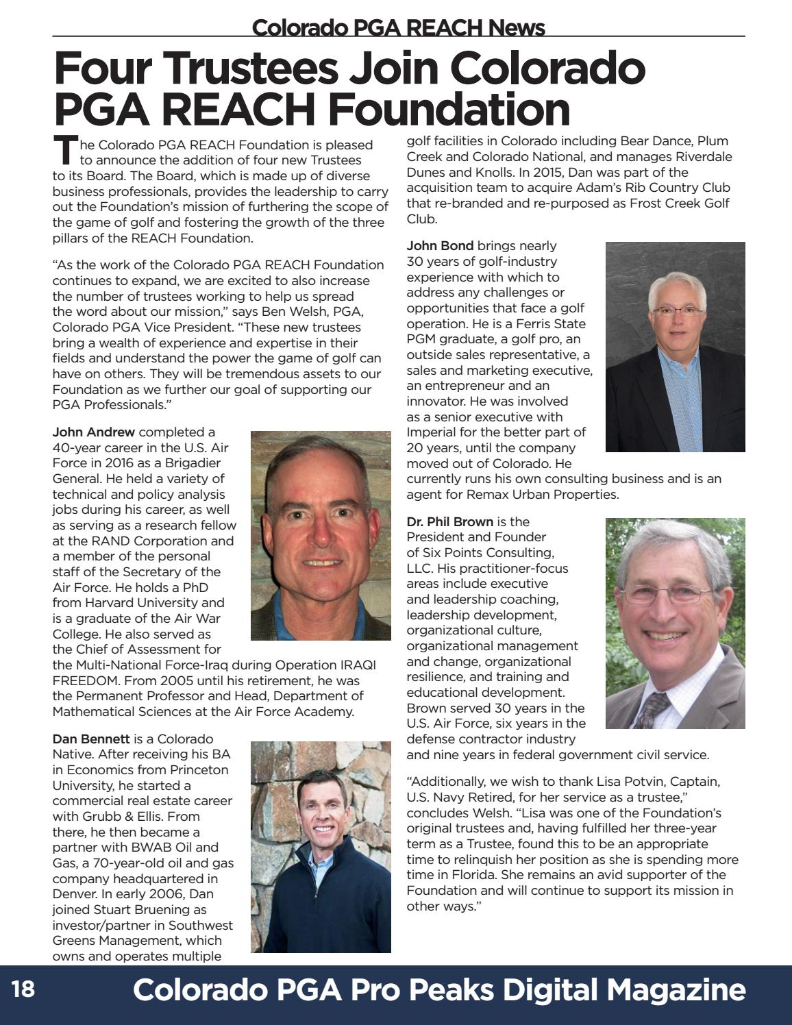 2018 - June Pro Peaks Magazine by Colorado PGA - issuu
