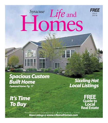 life and homes syracuse july 2018 by stephen lisi issuu rh issuu com