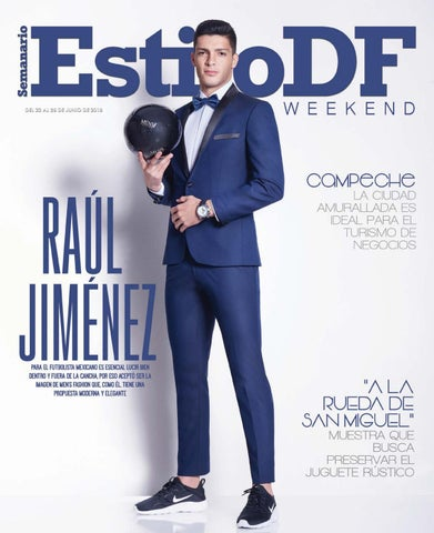 issuu DF by Weekend EstiloDF Jiménez Estilo Raúl 3AqjL54R