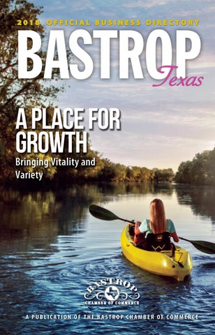 ee3d22671 Bastrop TX Community Guide by Town Square Publications