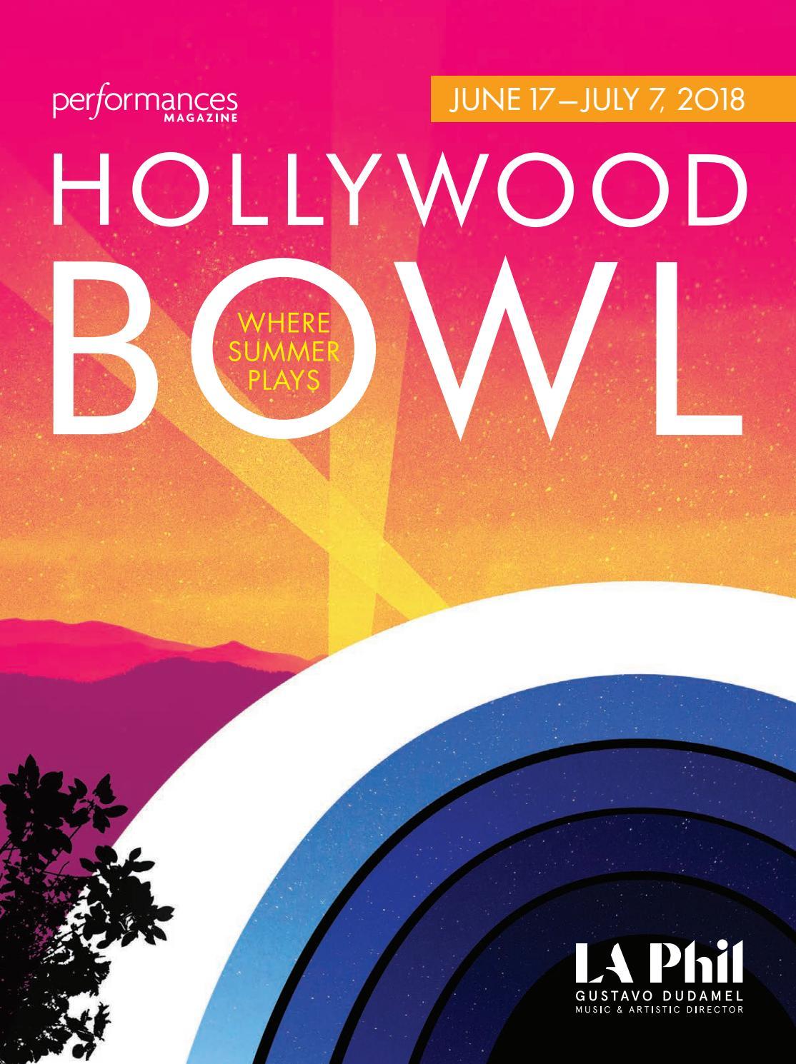 Performances Magazine Hollywood Bowl 2018 by SoCalMedia - issuu